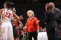 UVa head coach Debbie Ryan January 11, 2009.