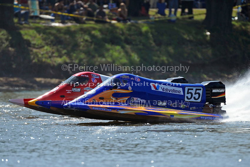 Mike Beegle, (#99) and Jim McGrath, (#55) (SST-120 class)