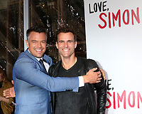 "LOS ANGELES - MAR 13:  Josh Duhamel, Cameron Mathison at the ""Love, Simon"" Special Screening at Westfield Century City Mall Atrium on March 13, 2018 in Century City, CA"