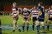 Andrew Van der Heijden, Fritz Lee & Gary Saifoloi wait for the lineout throw. Air New Zealand Cup rugby game played at Mt Smart Stadium, Auckland, between Counties Manukau Steelers & Otago on Thursday August 21st 2008..Otago won 22 - 8 after leading 12 - 8 at halftime.