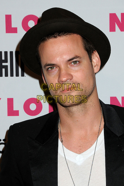 SHANE WEST.Nylon Magazine's Young Hollywood Party held at the Roosevelt Hotel's Tropicana Bar, Hollywood, California, USA..May 12th, 2010.headshot portrait stubble facial hair  black white hat .CAP/ADM/BP.©Byron Purvis/AdMedia/Capital Pictures.