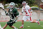 Palos Verdes, CA 04/20/10 - Jonathon Gonzalez (Palos Verdes #2) in action during the Mira Costa-Palos Verdes boys lacrosse game.