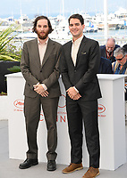 Josh Safdie &amp; Benny Safdie at the photocall for &quot;Good Time&quot; at the 70th Festival de Cannes, Cannes, France. 25 May 2017<br /> Picture: Paul Smith/Featureflash/SilverHub 0208 004 5359 sales@silverhubmedia.com