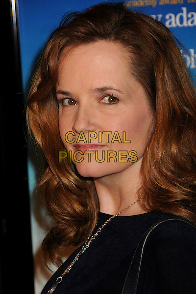 "LEA THOMPSON .""Sunshine Cleaning"" Los Angeles Premiere held at Pacific Theaters at The Grove, Los Angeles, CA, USA, .09 March 2009..portrait headshot  blue.CAP/ADM/BP.©Byron Purvis/Admedia/Capital PIctures"