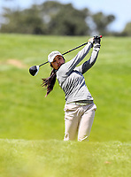 Carmen Lim during the Charles Tour Augusta Funds Management Ngamotu Classic, Ngamotu Golf Course, New Plymouth, New Zealand, Thursday 12 October 2017.  Photo: Simon Watts/www.bwmedia.co.nz
