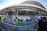 PORTO ALEGRE, RS, 09.06.2013 - AMISTOSO BRASIL X FRANCA - Arena Gremio em Porto Alegre onde acontece o amistoso entre Brasil x Franca na tarde  deste domingo 09 junho. (Foto: Vanessa Carvalho / Brazil Photo Press).