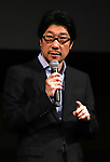 """September 25, 2019, Tokyo, Japan - Japanese film director Junji Sakamoto speaks at a press event for the 31st Tokyo International Film Festival (TIFF) as his movie """"Another World"""" is nominated to the competition section of the festival in Tokyo on Tuesday, September 25, 2018. TIFF announced all nominated films for 10-day festival event from October 25 through November 3. (Photo by Yoshio Tsunoda/AFLO) LWX -ytd-"""