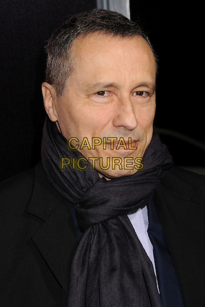 "Michael Wincott.""Hitchcock"" Los Angeles Premiere held at the AMPAS Samuel Goldwyn Theater, Beverly Hills, California, USA..November 20th, 2012.headshot portrait black scarf .CAP/ADM/BP.©Byron Purvis/AdMedia/Capital Pictures."