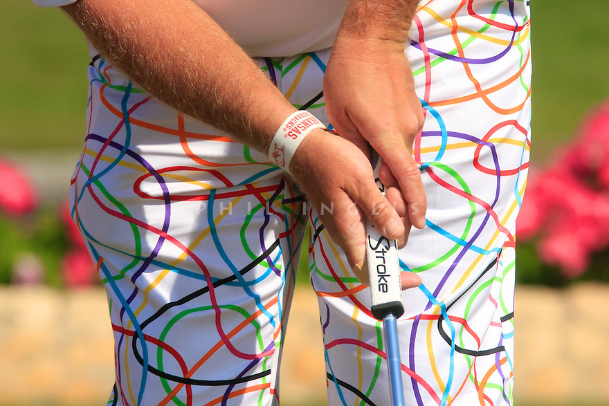 John Daly (USA) in action during the third round of the Commercial Bank Qatar Masters played at Doha Golf Club, Doha, Qatar. 22 - 25th January 2014 (Picture Credit / Phil Inglis)