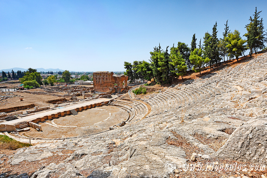 The Ancient Theater of Argos (320  B.C.), Greece