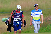 Paul Dunne (IRL) on the 8th during Round 2 of the Aberdeen Standard Investments Scottish Open 2019 at The Renaissance Club, North Berwick, Scotland on Friday 12th July 2019.<br /> Picture:  Thos Caffrey / Golffile<br /> <br /> All photos usage must carry mandatory copyright credit (© Golffile | Thos Caffrey)