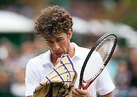 25-06-11, Tennis, England, Wimbledon, Robin Haase