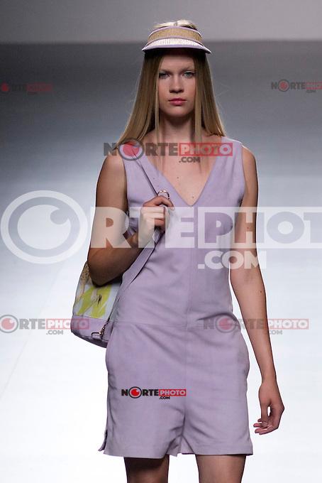 04.09.2012. Models walk the runway in the El Colmillo de Morsa fashion show during the EGO Mercedes-Benz Fashion Week Madrid Spring/Summer 2013 at Ifema. (Alterphotos/Marta Gonzalez) /NortePhoto.com<br /> <br /> **CREDITO*OBLIGATORIO** <br /> *No*Venta*A*Terceros*<br /> *No*Sale*So*third*<br /> *** No*Se*Permite*Hacer*Archivo**<br /> *No*Sale*So*third*