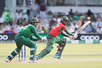 Mosaddek Hossain (Bangladesh) plays through the off side during Pakistan vs Bangladesh, ICC World Cup Cricket at Lord's Cricket Ground on 5th July 2019