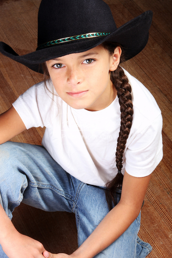 A Native American Sioux Indian boy
