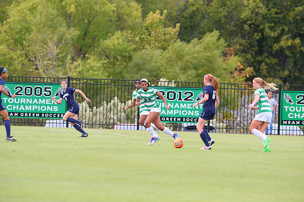 OCTOBER 23: University of North Texas Mean Green v Old Dominion at Soccer Athletic Complex on October 23, 2016. (Photo Rick Yeatts)