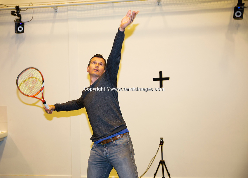 Netherlands, Amsterdam, April 19, 2015 De Toekomst, Talent Program<br /> Photo: Tennisimages/Henk Koster
