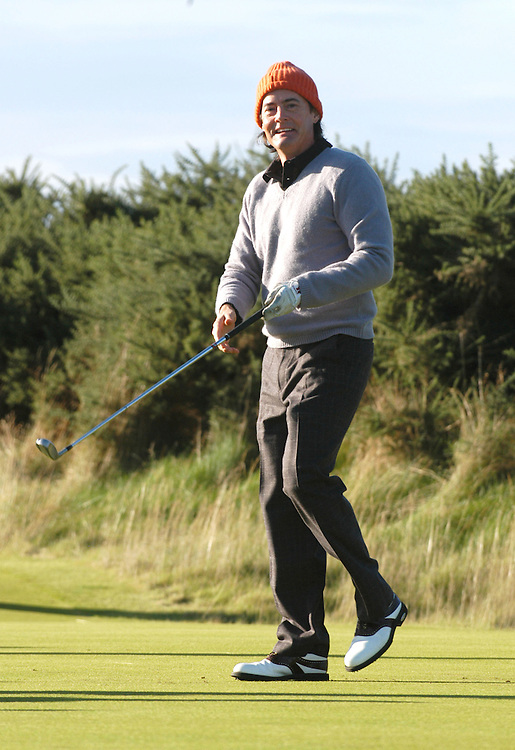 DUNHILL LINKS CHAMPIONSHIP 2005..ST.ANDREWS...KYLE MACLACHLAN PLAYING AT KINGSBARNS..1-10-05 PIC BY IAN MCILGORM