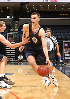 Carson Desrosiers handles the ball during the 2009 NBPA Top 100 Basketball Camp held Friday June 17- 20, 2009 in Charlottesville, VA. Photo/ Andrew Shurtleff.