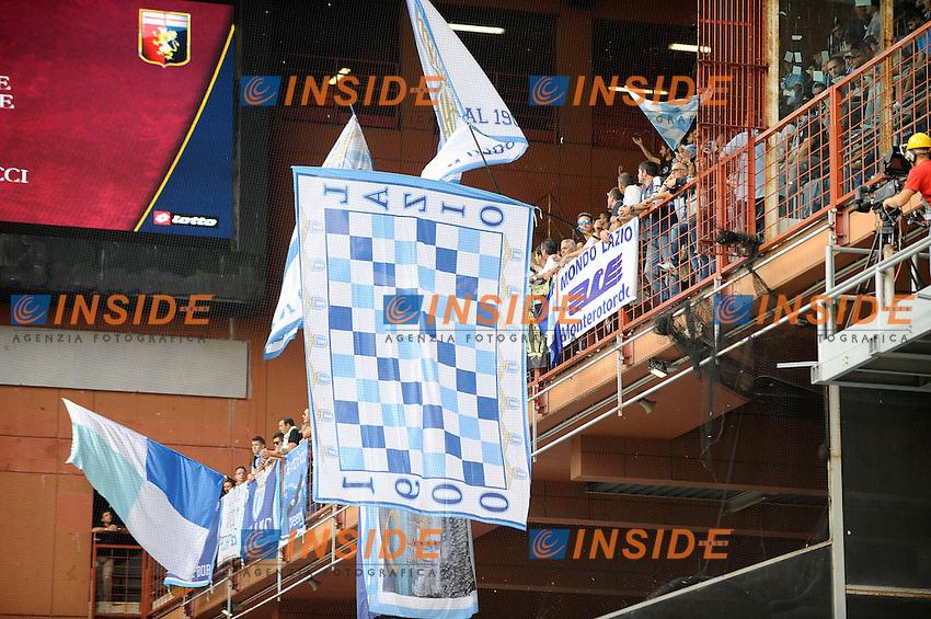 Tifosi Lazio Supporters  <br /> Genova 21-09-2014 Stadio Luigi Ferraris - Football Calcio Serie A Genoa - Lazio. Foto Insidefoto