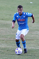 Diego Demme of SSC Napoli<br /> during the friendly football match between SSC Napoli and SS Teramo Calcio 1913 at stadio Patini in Castel di Sangro, Italy, September 04, 2020. <br /> Photo Cesare Purini / Insidefoto
