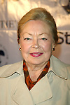 Dr. Mathilde Krim attends In Style Magazine hosts Christie's Gala / PrivateAuction to Celebrate hew new Simon/Schuster Book, ELIZABETH TAYLOR: MY LOVE AFFAIR WITH JEWELRY at Christie's, New York City<br /> September 26, 2002