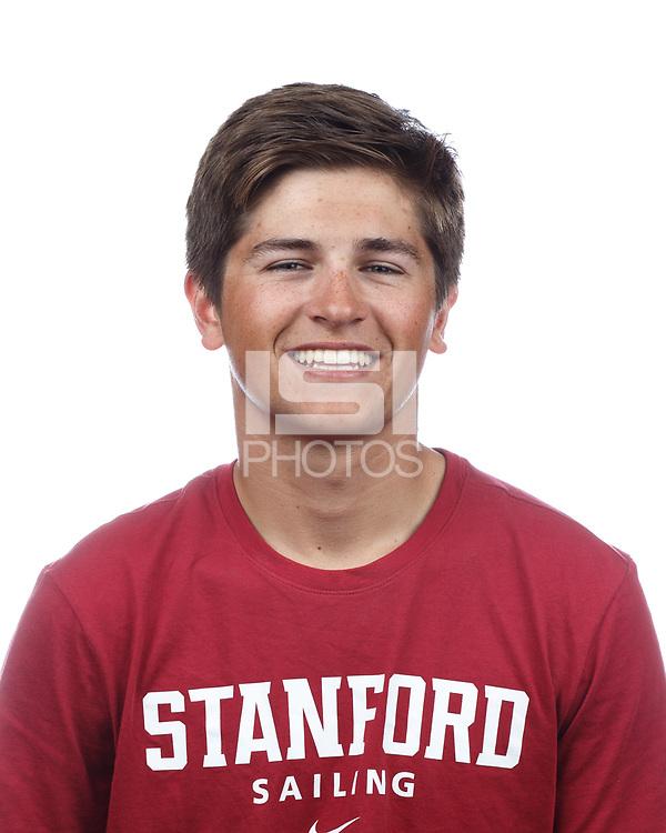 Stanford, CA - September 20, 2019: Jack Parkin, Athlete and Staff Headshots