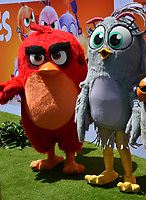 "LOS ANGELES, USA. August 10, 2019: Red & Silver at the premiere of ""The Angry Birds Movie 2"" at the Regency Village Theatre.<br /> Picture: Paul Smith/Featureflash"