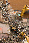 Urban building demolition and material recycling, Portland, Oregon