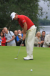 Graeme McDowell takes his putt on the 2nd green during the Final Day of the 3 Irish Open at the Killarney Golf & Fishing Club, 1st August 2010..(Picture Eoin Clarke/www.golffile.ie)