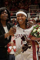 STANFORD, CA - FEBRUARY 20:  Melanie Murphy of the Stanford Cardinal during Stanford's 82-48 win over Oregon State on February 20, 2010 at Maples Pavilion in Stanford, California.