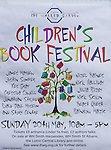 Children's Book Festival  20th May 2012