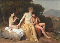 Apolllon, Hyacinthe et Cyparissus par Alexander Ivanov