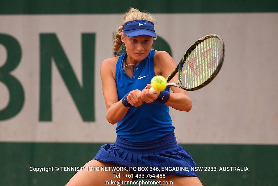 DAYANA YASTREMSKA (UKR)<br /> <br /> TENNIS - FRENCH OPEN - ROLAND GARROS - ATP - WTA - ITF - GRAND SLAM - CHAMPIONSHIPS - PARIS - FRANCE - 2016  <br /> <br /> <br /> <br /> &copy; TENNIS PHOTO NETWORK