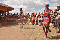 Banna dance in Omo valley Ethiopia