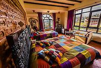 Guest room, Hotel Heritage, Bhaktapur, Nepal.