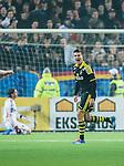 Stockholm 2014-04-16 Fotboll Allsvenskan Djurg&aring;rdens IF - AIK :  <br /> AIK:s Eero Markkanen har gjort 3-0 och jublar<br /> (Foto: Kenta J&ouml;nsson) Nyckelord:  Djurg&aring;rden DIF Tele2 Arena AIK jubel gl&auml;dje lycka glad happy