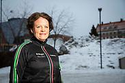 OSTERSUND, SWEDEN - JANUARY 17: Hanna Falkeström poses for a portrait on January 17, 2020 in Ostersund, Sweden. (Photo by David Lidström Hultén/LPNA) ***BETALBILD***