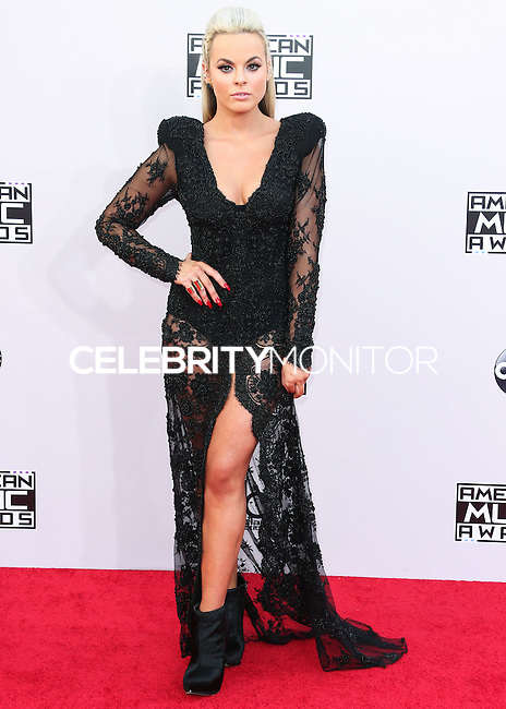 LOS ANGELES, CA, USA - NOVEMBER 23: Katy Tiz arrives at the 2014 American Music Awards held at Nokia Theatre L.A. Live on November 23, 2014 in Los Angeles, California, United States. (Photo by Xavier Collin/Celebrity Monitor)