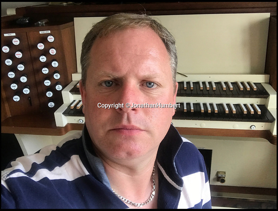 BNPS.co.uk (01202 558833)Pic: JonathanHumbert/BNPS'Angry and incredulous' -  organist Jonathan Humbert led the campaign to preserve the historic instrument.<br /> <br /> A decision to remove a 'magnificent' 107-year-old pipe organ from a church in order to replace it with 'evangelical happy clappy music' has been met with outrage.<br /> <br /> The Chancellor for the Diocese of St Albans has ruled the 16ft wide instrument that has serenaded the congregation of St Paul's Church in the Hertfordshire market town for a century be ripped out and disposed of.<br /> <br /> It will be replaced with a digital organ and speakers at a cost of nearly £18,000 and will compliment 'bongos and guitars' <br /> <br /> But objectors - including trained organists - say the instrument is in fine working order and have accused the church officials of wasting money and doing away with tradition.