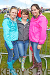 RACE FUN: Denise Holly, Ballybunion, Michelle Ross, Moyvane, Sheena Collins, Asdee having fun at the Dingle Races on Sunday..