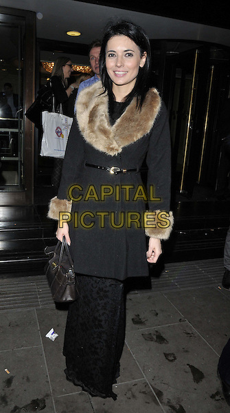 LONDON, ENGLAND - JANUARY 15: Natalie Sawyer attends the Nordoff Robbins Six Nations Championship Rugby Dinner, Grosvenor House Hotel, Park Lane, on Wednesday January 15, 2014 in London, England, UK.<br /> CAP/CAN<br /> &copy;Can Nguyen/Capital Pictures