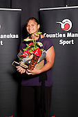 Sportswoman of the Year winner Valerie Adams. . Counties Manukau Sport Sporting Excellence Awards held at Testra Clear Pacific Events Centre, Manukau, on Thursday 9th December 2010.