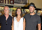 """Days Of Our Lives - Greg Meng (co-executive producer and author of this book), Kristian Alfonso and Greg Vaughan meet the fans as they sign """"Days Of Our Lives Better Living"""" on September 27, 2013 at Books-A-Million in Nashville, Tennessee. (Photo by Sue Coflin/Max Photos)"""