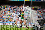 Paul Geaney, Kerry in action against Ciaran Fitzpatrick, Kildare in the All Ireland Quarter Final at Croke Park on Sunday.