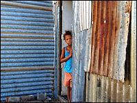 "In the ""Khoi Camp"" outside Nieu Bethesda, Great Karoo, SA 2006"