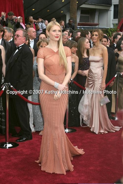 Gwyneth Paltrow.79th Annual Academy Awards.Kodak Theater .Hollywood & Highland.Hollywood, CA.February 25, 2007.©2007 Kathy Hutchins / Hutchins Photo....