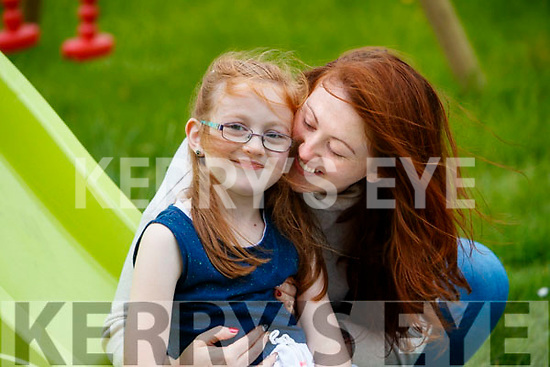 Natasha Curran with her daughter Leah who is featured on a show this Sunday morning on rte junior.