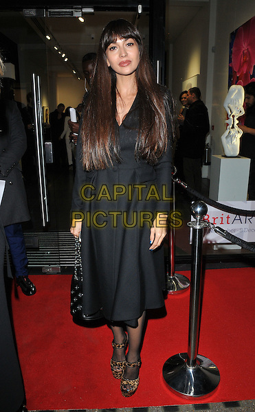 Zara Martin at the Jean-David Malat: BritARTnia private view, Opera Gallery, New Bond Street, London, England, UK, on Tuesday 22 November 2016. <br /> CAP/CAN<br /> &copy;CAN/Capital Pictures