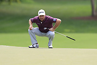 Graeme McDowell (NIR) at the 12th green during Thursday's Round 1 of the 2017 PGA Championship held at Quail Hollow Golf Club, Charlotte, North Carolina, USA. 10th August 2017.<br /> Picture: Eoin Clarke | Golffile<br /> <br /> <br /> All photos usage must carry mandatory copyright credit (&copy; Golffile | Eoin Clarke)
